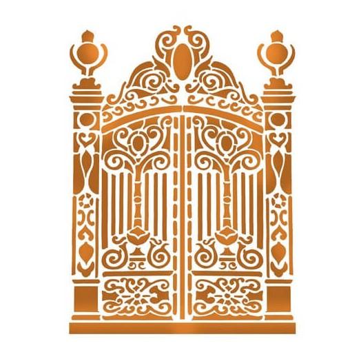 Stencil Gate 21x29,7cm , Stamperia