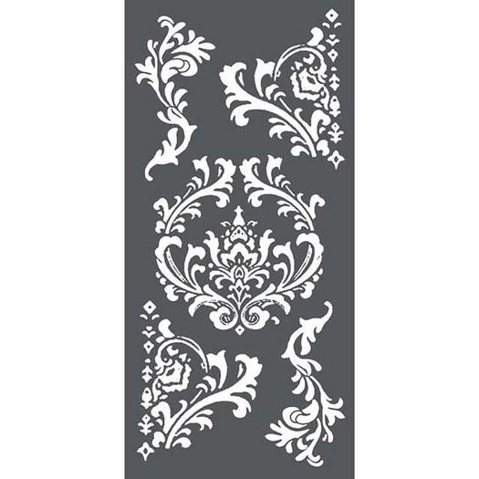 Thick Stencil 12x25 cm Stamperia, Decorations