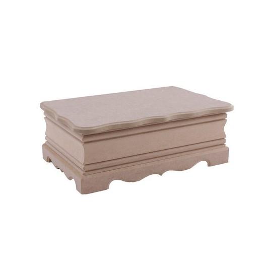Κουτί σκαλιστό MDF 27x17x9,5