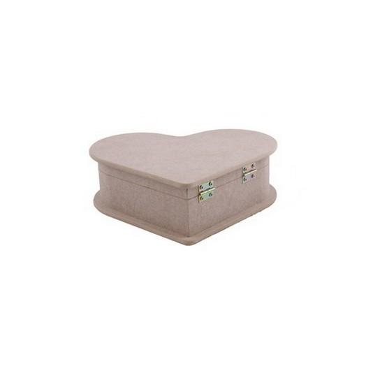 Κουτί Mdf Καρδιά small 15x15x6cm