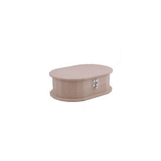Κουτί Mdf Oval small 20x13.5x6.5cm