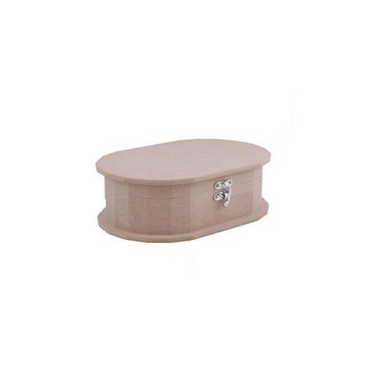 Κουτί Mdf Oval medium 25x16x7.5cm