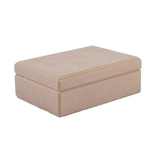 Κουτί Mdf παραλληλόγραμμο 25x16x7cm