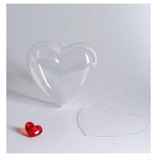 Καρδιά Plexiglass 10 cm