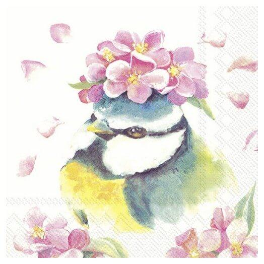 Χαρτοπετσέτα για Decoupage, Beautiful Bird 1τεμ.