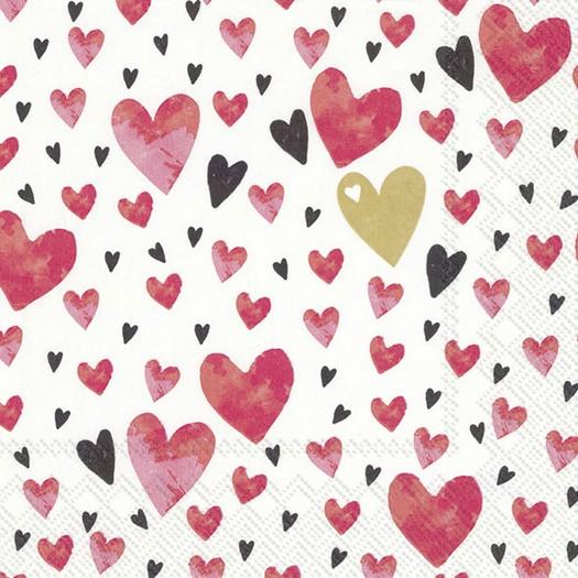 Χαρτοπετσέτα για decoupage, Love you, 1 τεμ.