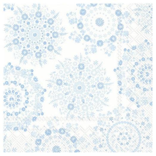 Χαρτοπετσέτα για Decoupage, Lilly light blue, 1τεμ.