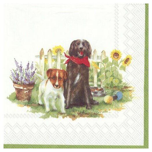 Χαρτοπετσέτα για Decoupage, Hello dogs, 1τεμ.