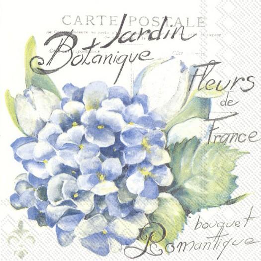 Χαρτοπετσέτα για decoupage, Jardin botanique, 1 τεμ.