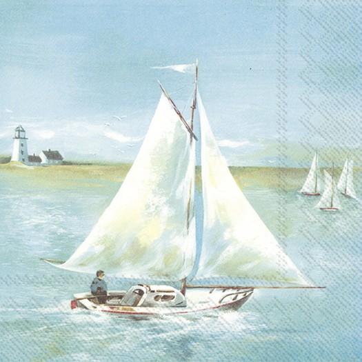 Χαρτοπετσέτα για decoupage, Seaside, 1 τεμ.