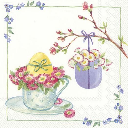 Χαρτοπετσέτα για decoupage, Welcome Easter, 1 τεμ.