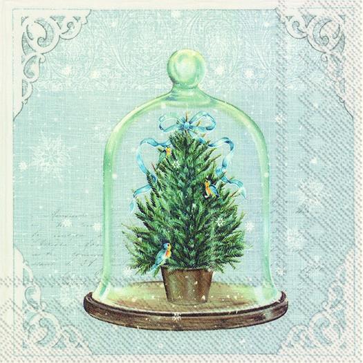 Χαρτοπετσέτα για decoupage, Bell jar, 1 τεμ.