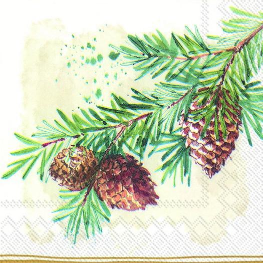 Χαρτοπετσέτα για decoupage, Decorative branches, 1 τεμ.