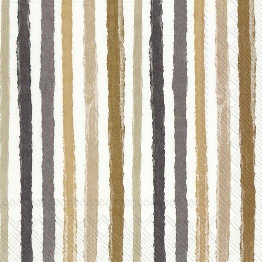 Χαρτοπετσέτα για decoupage, Colorful stripes, 1 τεμ.