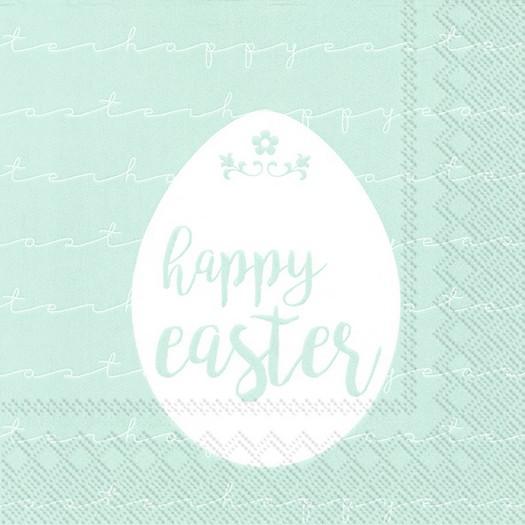Χαρτοπετσέτα για decoupage, Happy Easter, 1 τεμ.