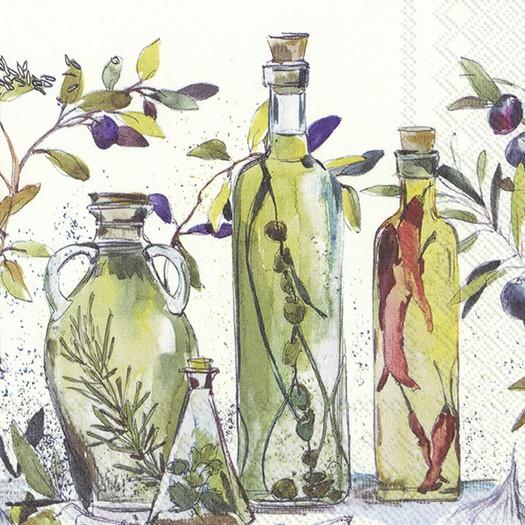 Χαρτοπετσέτα για decoupage, Oriental oils, 1 τεμ.