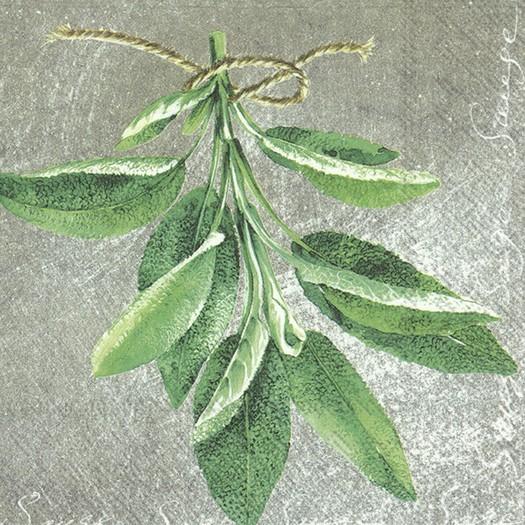 Χαρτοπετσέτα για decoupage, Herbal Sage, 1 τεμ.