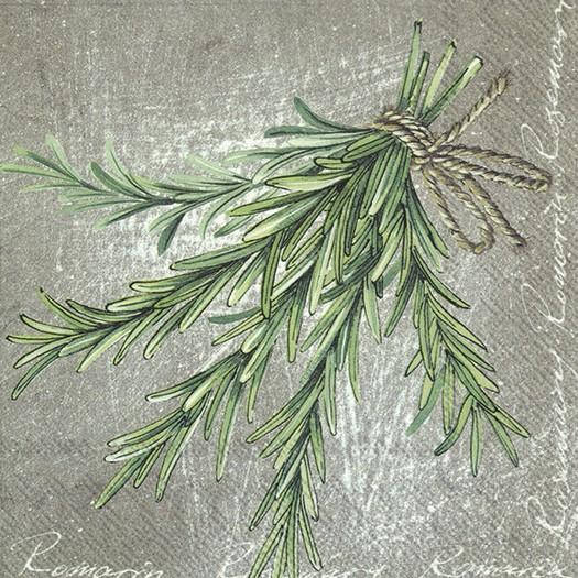 Χαρτοπετσέτα για decoupage, Herbal Rosemary, 1 τεμ.
