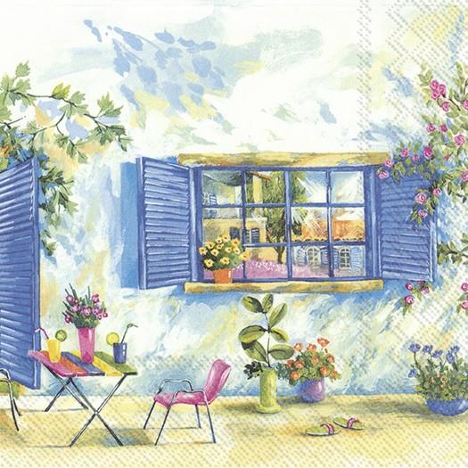 Χαρτοπετσέτα για decoupage, Toscana Holiday, 1 τεμ.