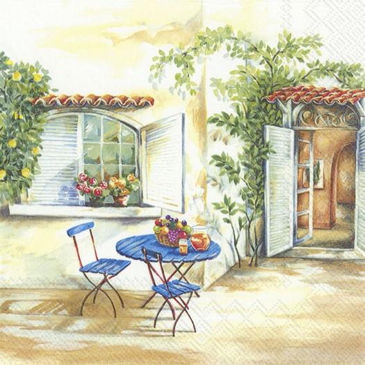 Χαρτοπετσέτα για decoupage, Toscana Feelings, 1 τεμ.