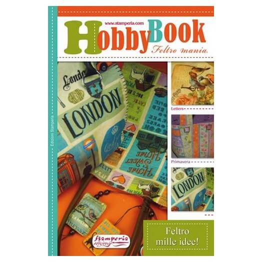 Hobby Book Feltro Nuove idee (με πατρόν), Stamperia
