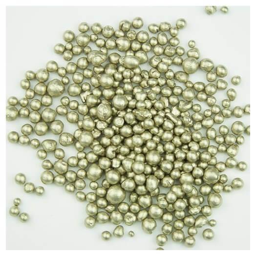 Metallic pearls White Gold, 150ml