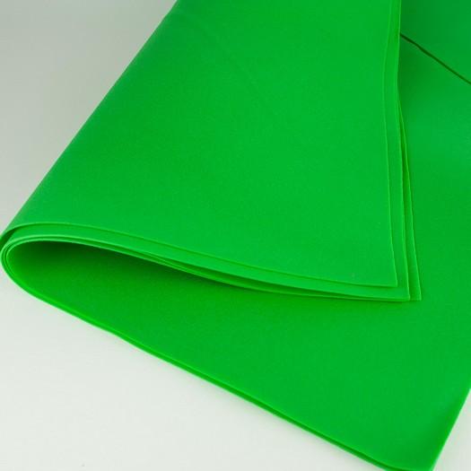 Foamiran Soft 50x50cm, πάχος 0,5mm - Green