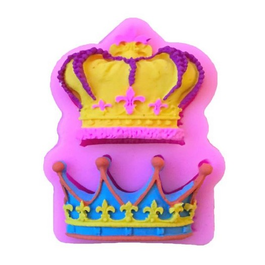 Καλούπι σιλικόνης, Crowns, 6,7x4cm