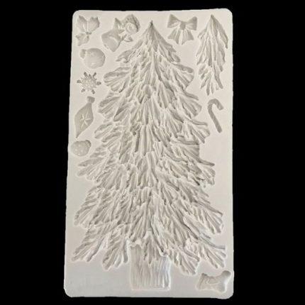 Καλούπι σιλικόνης, Christmas Tree, 21x12cm