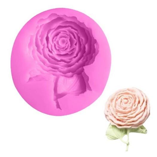 Καλούπι σιλικόνης, Rose, 6,5x7,3cm