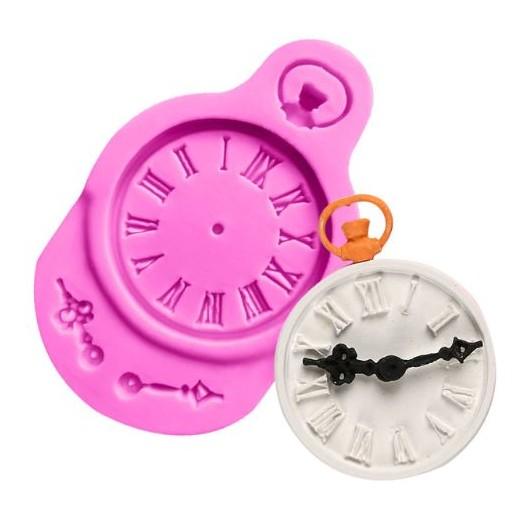 Καλούπι σιλικόνης, Clock, 9x5,6cm