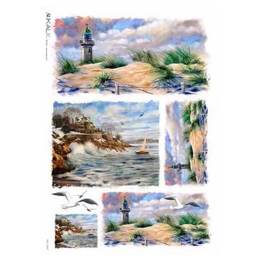 Ριζόχαρτο KALIT για Decoupage 32x45cm, VIEWS_0108