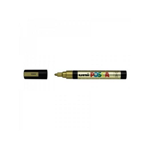 Μαρκαδόρος Posca PC-5M/5D, Gold