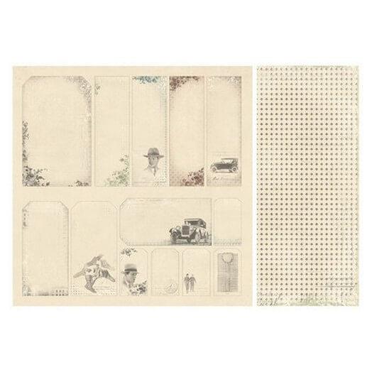 Χαρτί Scrapbooking Pion Design, For Father, διπλής όψης