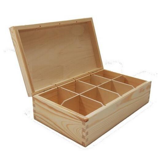 Κουτί με 8 χωρίσματα 290 x 175 x 90 mm