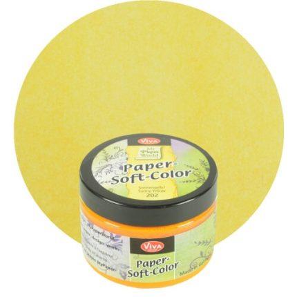 Paper Soft Color Viva Decor 75 ml - Sunny yellow