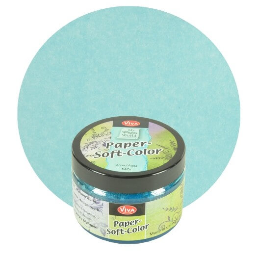 Paper Soft Color Viva Decor 75 ml - Aqua