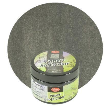 Paper Soft Color Viva Decor 75 ml - Graphite
