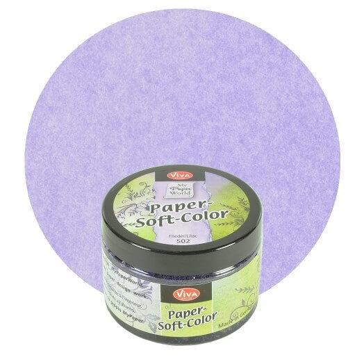 Paper Soft Color Viva Decor 75 ml - Lilac