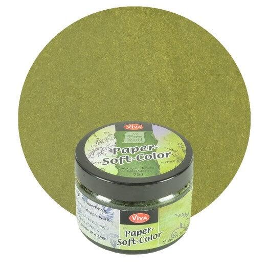 Paper Soft Color Viva Decor 75 ml - Moss green