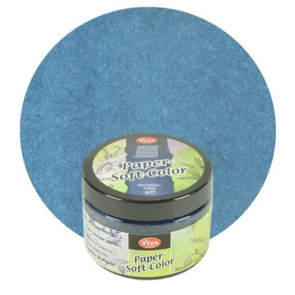 Paper Soft Color Viva Decor 75 ml - Navy blue