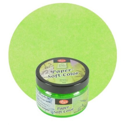 Paper Soft Color Viva Decor 75 ml - Pea green