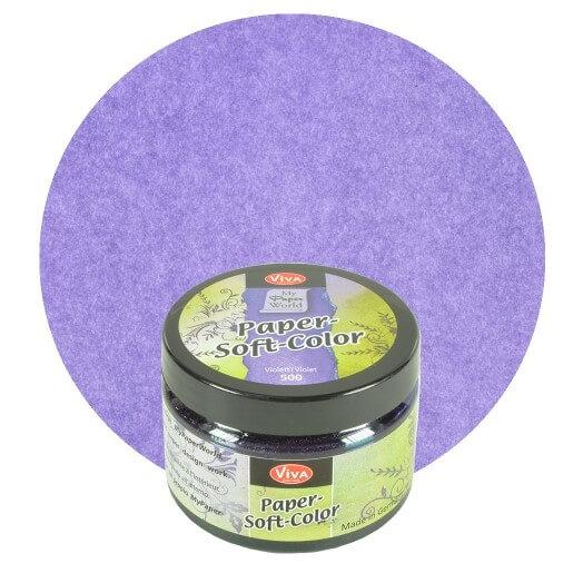 Paper Soft Color Viva Decor 75 ml - Violet