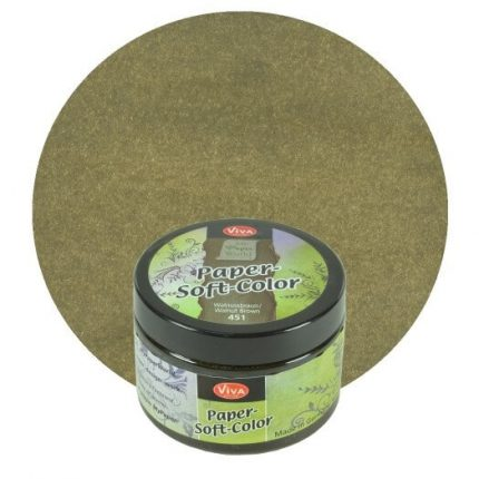 Paper Soft Color Viva Decor 75 ml - Walnut brown