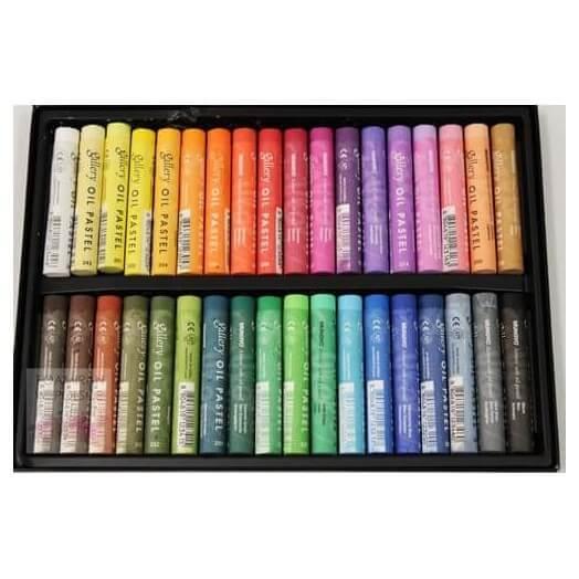 Χρώματα Oil Pastel, 36 τεμ.
