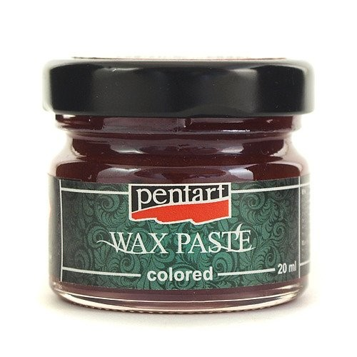Πατίνα Wax Pentart Red, 20ml