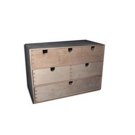 Μικροέπιπλο συρταριέρα 42 x 21 x 28 cm