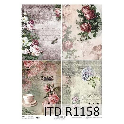 Ριζόχαρτο ITD Collection, 21x29cm, R1158