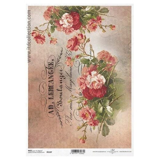 Ριζόχαρτο ITD Collection, 21x29cm, R1187