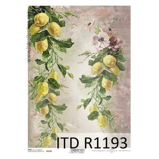 Ριζόχαρτο ITD Collection, 21x29cm, R1193